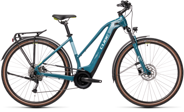 Cube Touring Hybrid ONE 500 blue´n´green 2021 Trapeze