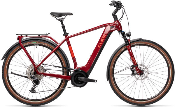 Cube Touring Hybrid EXC 500 red´n´grey 2021